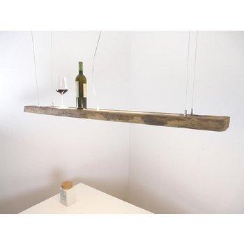 Lampe à suspension LED en poutres anciennes ~ 152 cm