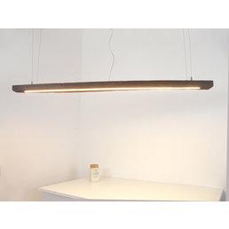 Lampe à Led suspension bois poutres antiques ~ 160 cm