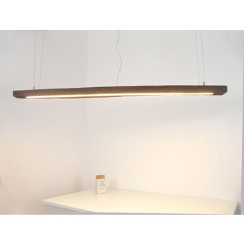 Led lamp hanging lamp wood antique beams ~ 160 cm