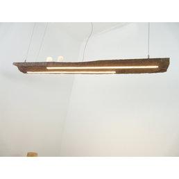LED Lampe Hängeleuchte Holz antik Balken ~ 128 cm