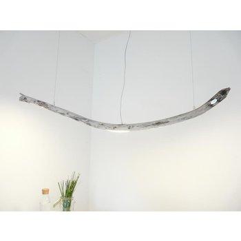 Lampe LED bois flotté suspension bois flotté ~ 164 cm