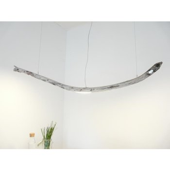 LED Treibholzlampe Schwemmholz Hängelampe ~ 164 cm