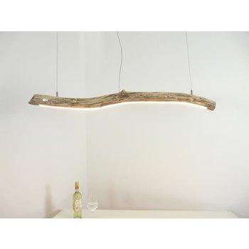 Lampe suspendue LED bois flotté ~ 115 cm