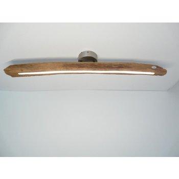 Lampe LED plafonnier bois poutres antiques ~ 95 cm