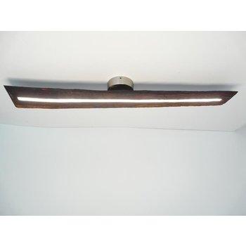 Lampe LED plafonnier bois poutres antiques ~ 99 cm