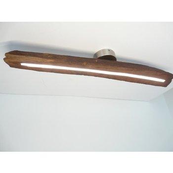 LED Lampe Deckenlampe Holz antik Balken ~ 91 cm