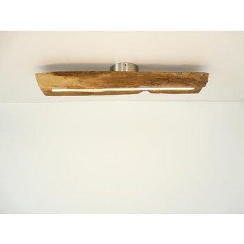 LED Lampe Deckenleuchte Holz antik Balken ~ 60 cm