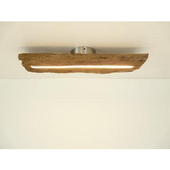LED Lampe Deckenleuchte Holz antik Balken ~  54 cm