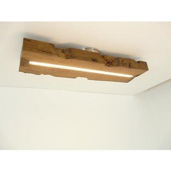 Lampe LED plafonnier bois poutres antiques ~ 60 cm