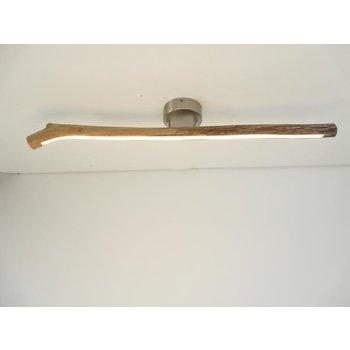 Lampe LED plafonnier bois flotté ~ 87 cm