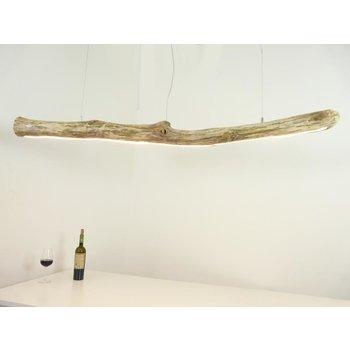 Lampe LED bois flotté suspension bois flotté ~ 168 cm