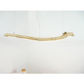 Lampe suspendue LED bois flotté ~ 126 cm