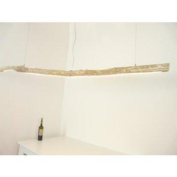 LED  Schwemmholzlampe mit Ober- und Unterlicht ~ 179 cm