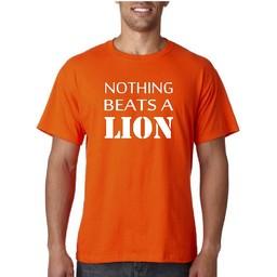 Nothing beats a lion. WK  T-shirt of Polo en div. kleuren. S t/m 8 XL