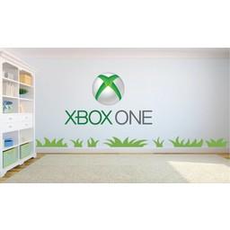XBOX One logo muursticker full color