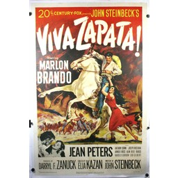 Viva Zapata starring Marlon Brando Movie poster