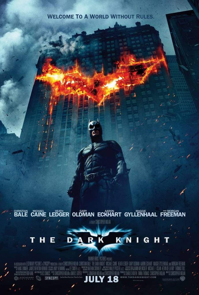 Batman the dark knight movie poster