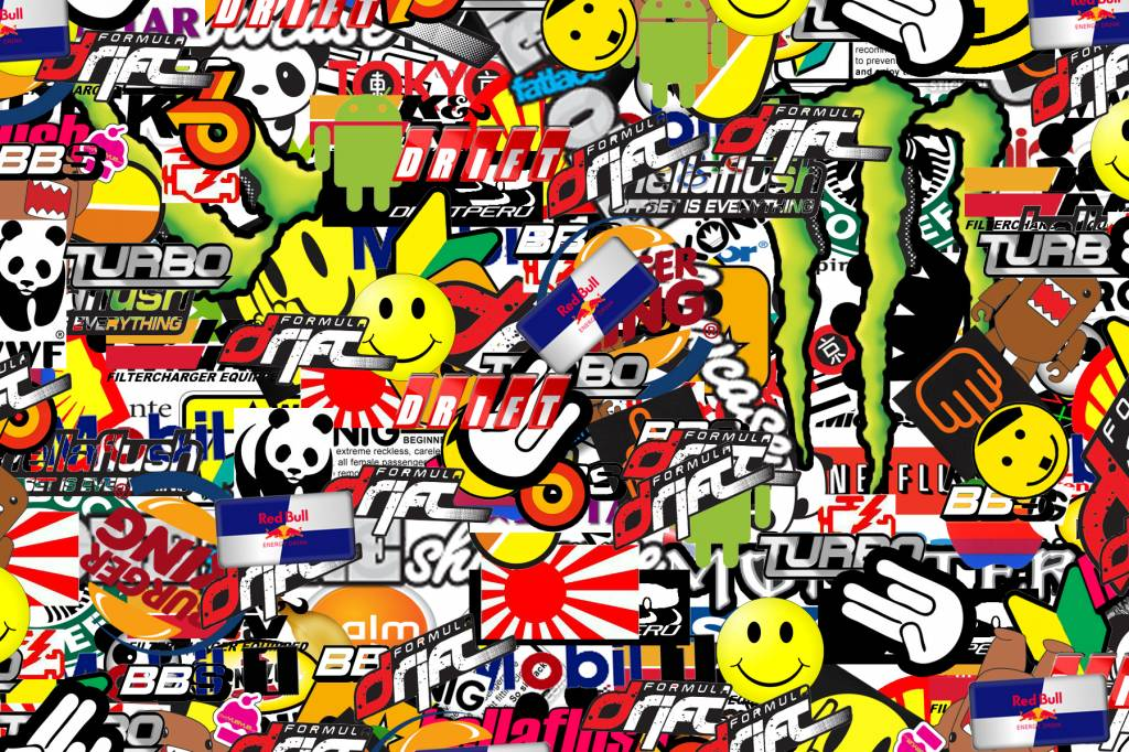 Upload je ontwerp en bestel je eigen stickers