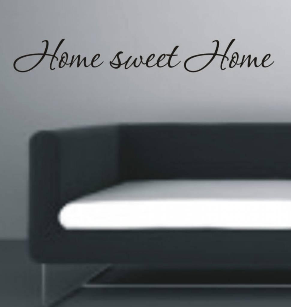 Muursticker Home Sweet Home.Home Sweet Home Muursticker Interieursticker Qualitysticker