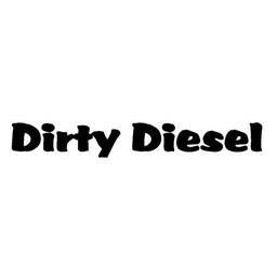 Dirty diesel auto sticker
