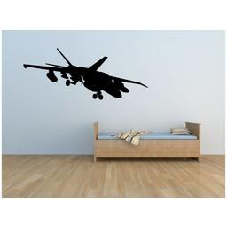Straaljager, Fighter jet muursticker