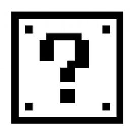 Nintendo block sticker