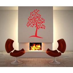Liefdesboom muursticker