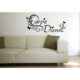 Carpe Diem (2) muursticker