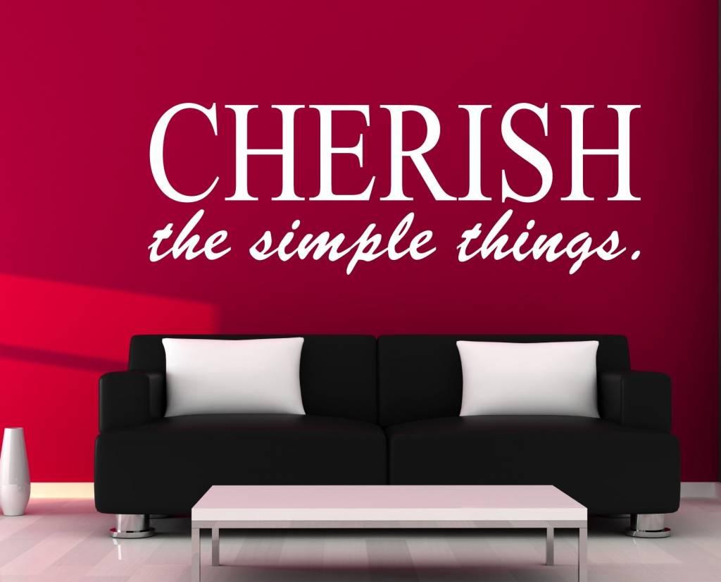 Cherish The Simple Things