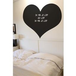 Krijtbordsticker hart
