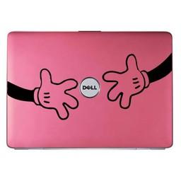 Mickey Mouse laptop knuffel laptopsticker