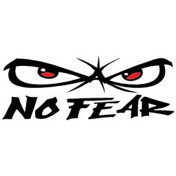 No fear autosticker
