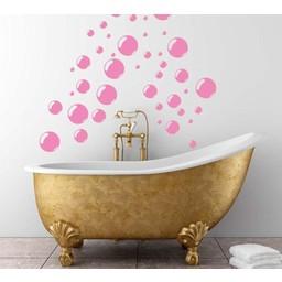 Bubbles. Leuk voor in de badkamer! muursticker