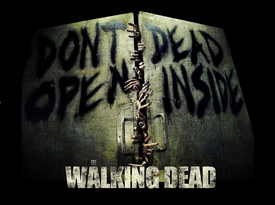 Walking Dead poster 6 don't open dead inside