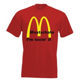 Mastrubate I'm living it. Keuze uit T-shirt of Polo en div. kleuren. S t/m 8 XL