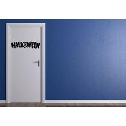 Halloween deursticker