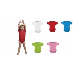 Ontwerp je eigen Rompertje in div kleuren en maat 56 t/m 92