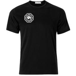 Lost Darma borst T-shirt of Polo en div. kleuren. S t/m 8 XL