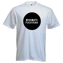 Dingbats Fuckyeah! T-shirt of Polo en div. kleuren. S t/m 8 XL