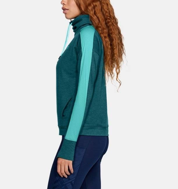 ... mit Trichterkragen Under Armour Damen Fleece-Pullover UA Featherweight,  mit Trichterkragen ... 8aa28e83de