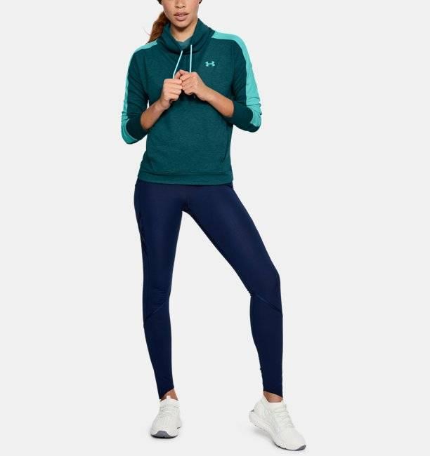 ... mit Trichterkragen Under Armour Damen Fleece-Pullover UA Featherweight,  mit Trichterkragen e3f4bba9d0