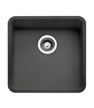 Reginox Ohio Regi spoelbak 40x40 color midnight sky (zwart)