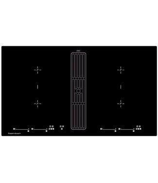 Küppersbusch KMI98000SR inductiekookplaat met afzuiging INCL plasmamade guc1314