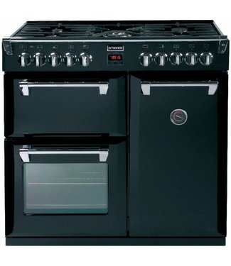 Stoves Richmond 900 DFT mat zwart