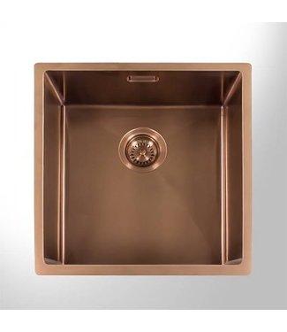 Lanesto Urban spoelbak 40x40 (copper)