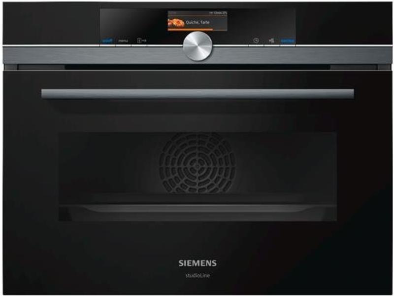 Siemens CM836GNB6 combi-magnetron (black steel)