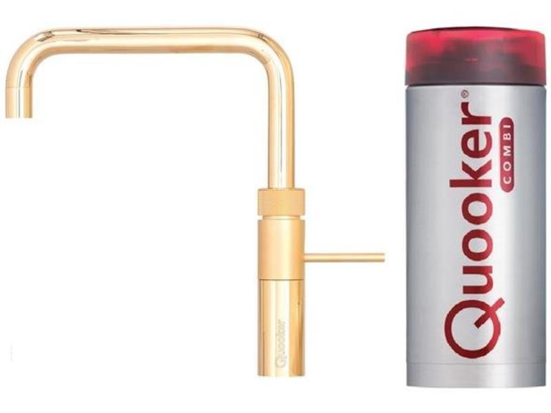 Quooker Fusion square gold combi