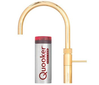 Quooker Fusion round gold PRO3