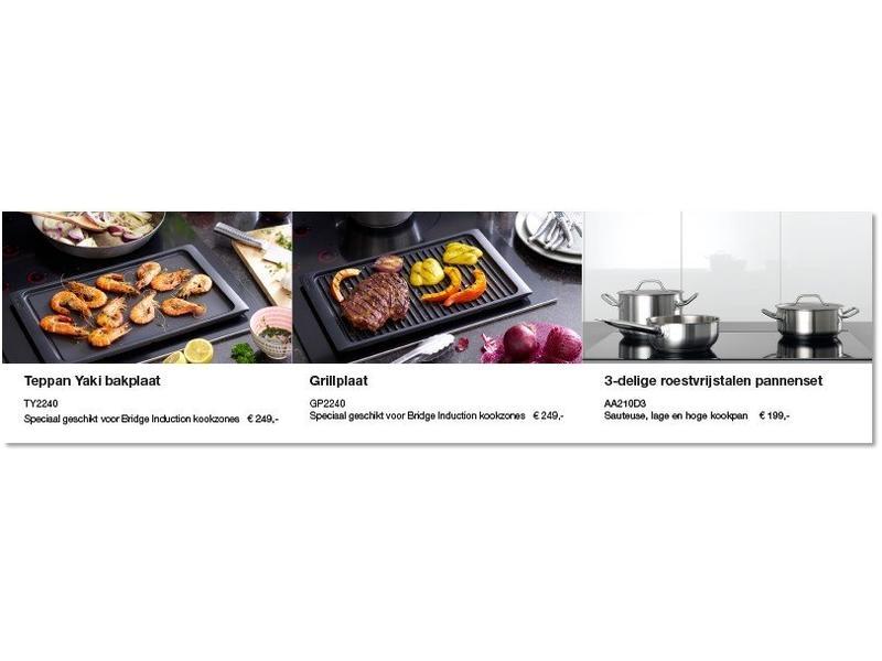 Atag IG9571MBA inductie kookplaat met wok