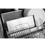 Pelgrim IKR2083RVS inductie kookplaat met afzuiging